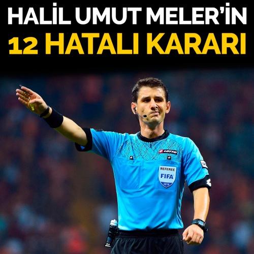 Halil Umut Meler'in Trabzonspor - Başakşehir maçındaki hataları