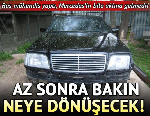 Mercedes Mercedes olalı böylesini görmedi