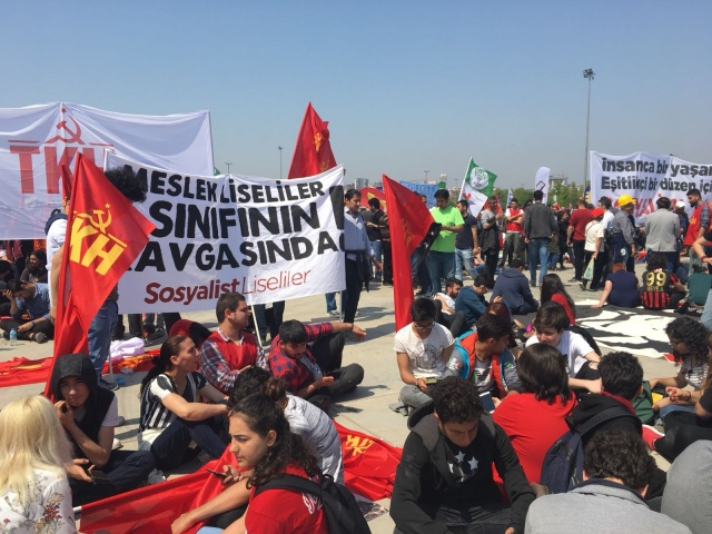 1 Mayıs İşçi Bayramı kutlamaları öncesi hazırlıklar