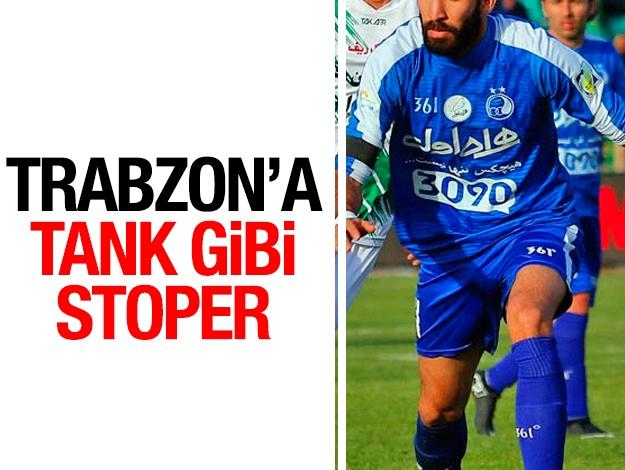 Trabzonspor'a tank gibi stoper!