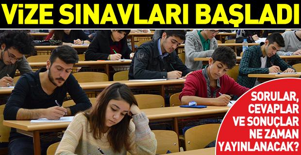 Açıköğretim Fakültesi Güz Dönemi Vize Sınavları başladı - Sınav soruları, cevapları ve sonuçları ne zaman açıklanacak