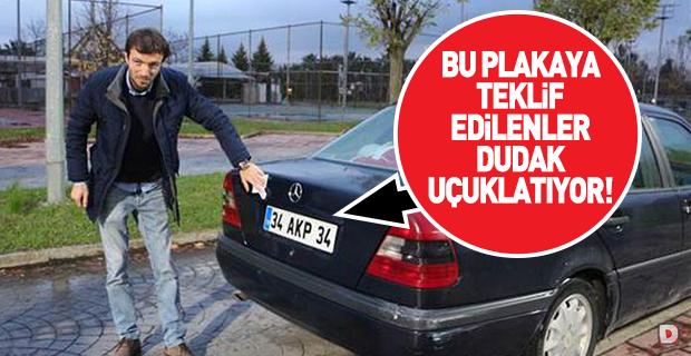 AKP plakasına rekor teklif!