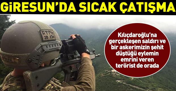Giresun'da PKK'lılarla çatışma