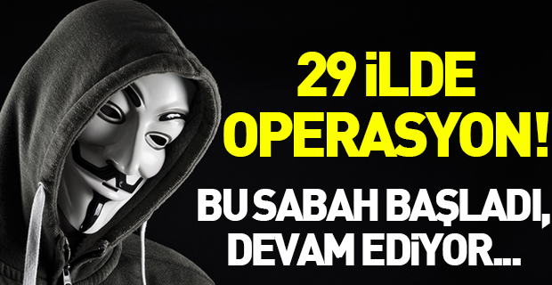 İnternet üzerinden yapılan uyuşturucu satışına 29 ilde operasyon