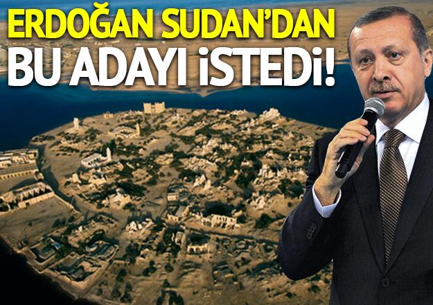İşte Erdoğan'ın istediği Sevakin Adası!