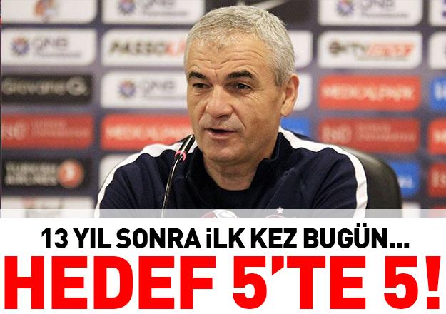 Trabzonspor'un hedefi 5'te 5