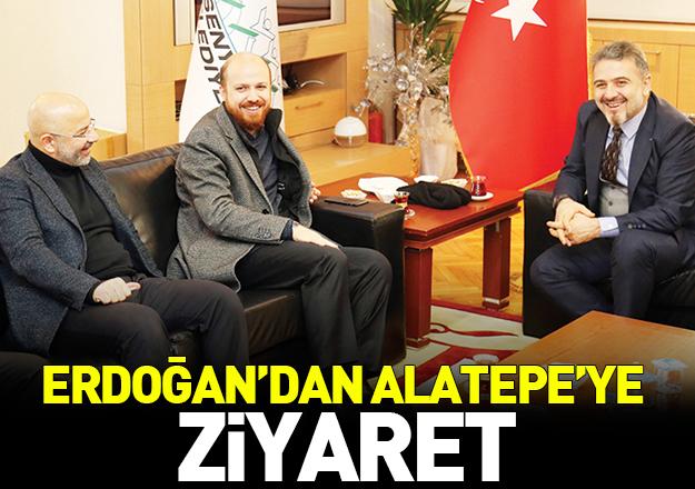 Erdoğan'dan Alatepe'ye ziyaret
