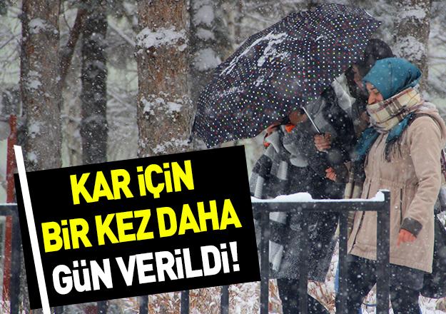 İstanbul'da son dakika kar uyarısı! İşte tarihi