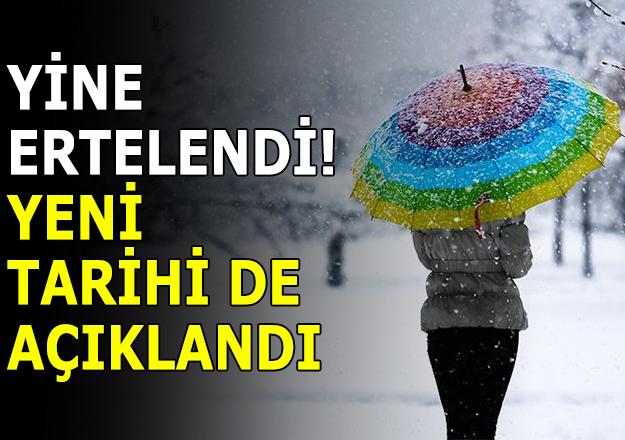 İstanbul için yeni yağış tarihi! Kar ne zaman yağacak