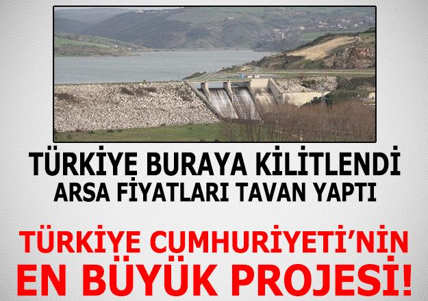 Kanal İstanbul'un geçeceği Sazlıdere Barajı nerededir - Satılık arsa fiyatları kaç lira