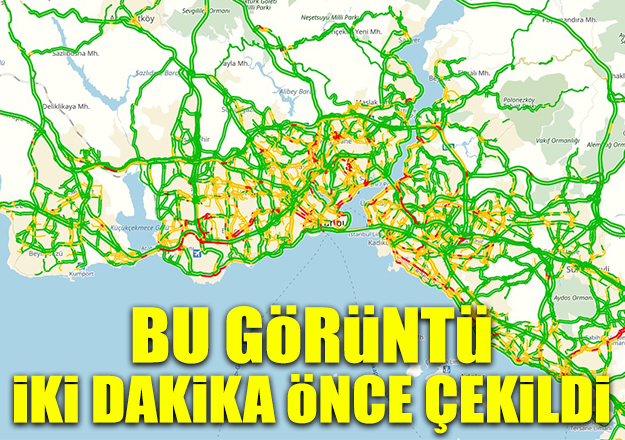 Karla karışık yağmur beklenen İstanbul'da yol ve hava durumu nasıl