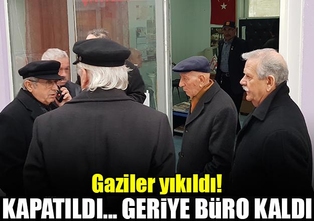 Muharip Gaziler Derneği İstanbul Şubesi Çatalca Temsilciliği kapatıldı