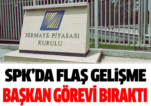 SPK Başkanı Vahdettin Ertaş görevini bıraktı
