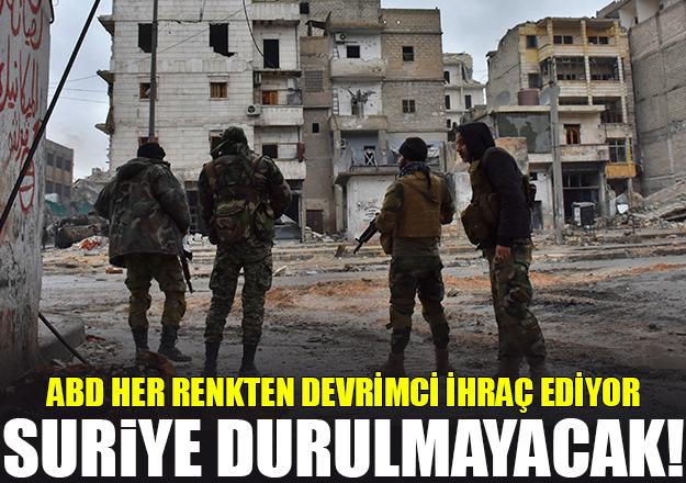 Suriye durulmayacak!