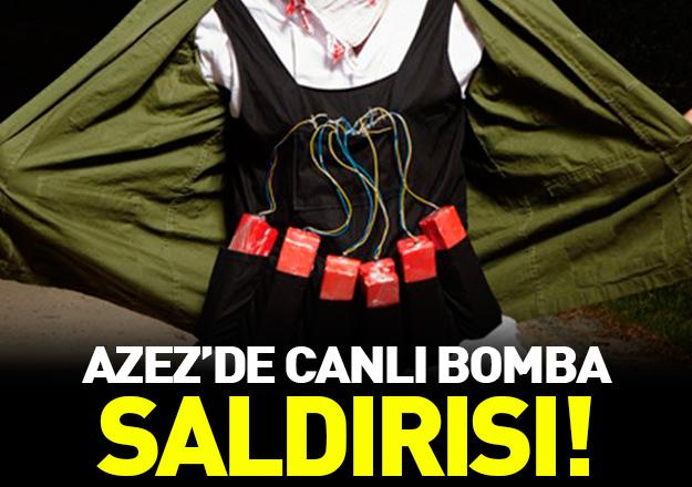 Türkiye sınırındaki Azez'de 'canlı bomba' saldırısı