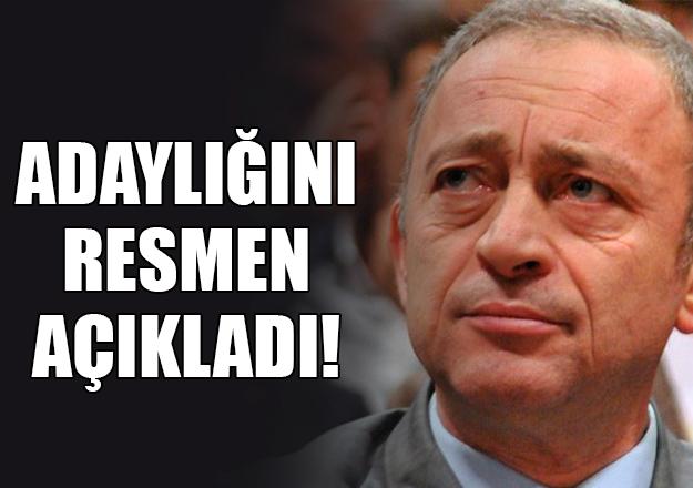Ümit Kocasakal CHP Genel Başkanı Adayı olduğunu açıkladı