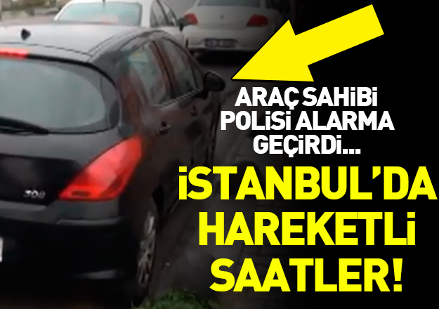 İstanbul'da hareketli saatler... O sözler polisi alarma geçirdi