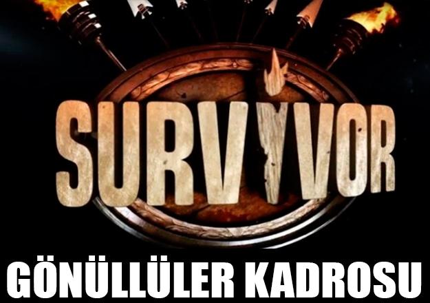 Survivor 2018 All Star Gönüllüler Takımı açıklandı! Kimler var