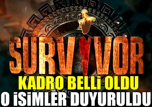 Survivor 2018 All Star kadrosu açıklandı! Ünlüler takımında kim yarışacak