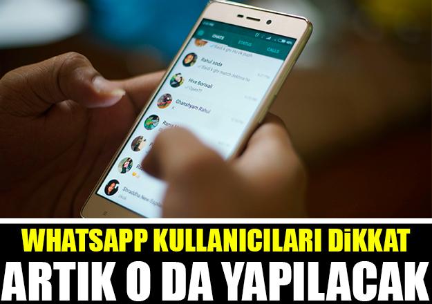 Whatsapp kullanıcıları dikkat! Artık onu da yapabileceksiniz