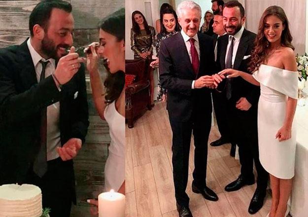 Bensu Soral Ile Hakan Baş Evliliğe Ilk Adımı Atıp Yüzük Taktı