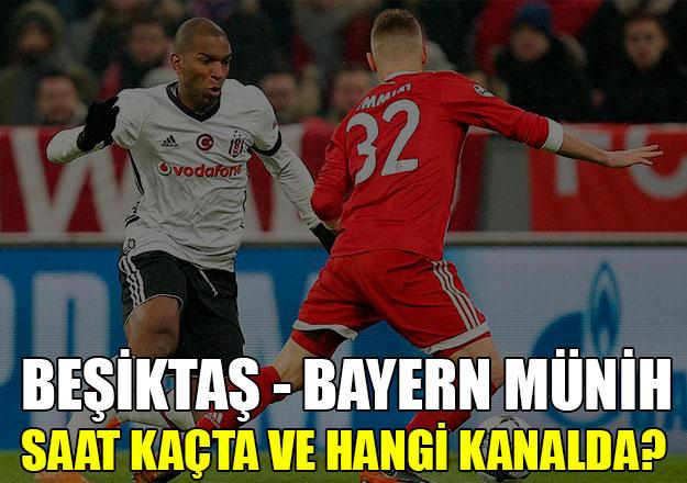 Beşiktaş - Bayern Münih Şampiyonlar Ligi maçı saat kaçta ve hangi kanalda | Kadrolar belli oldu