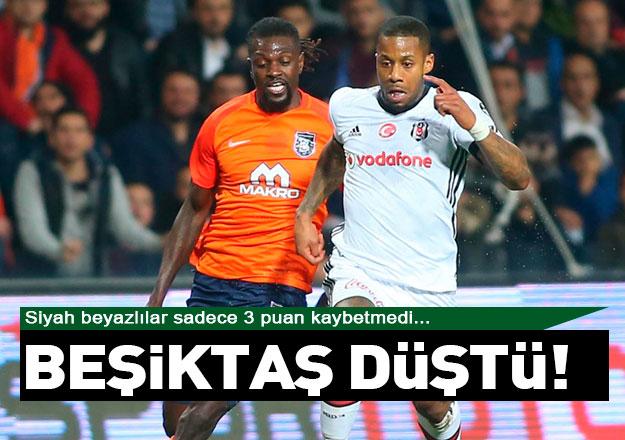 Beşiktaş düştü!