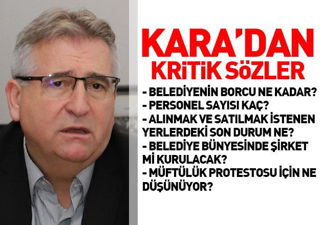 Çatalca Belediye Başkanı Cem Kara Gazete Damga'nın konuğu oldu