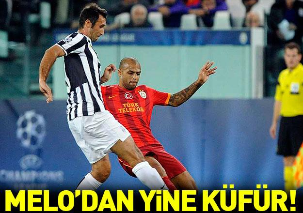 Felipe Melo'dan Fenerbahçe'ye yine küfür