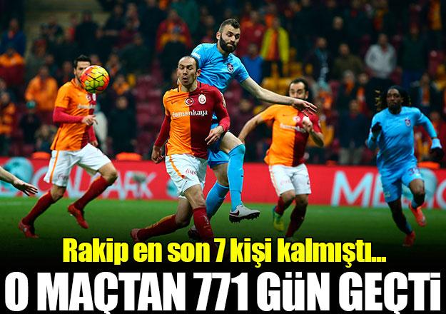 Galatasaray 771 gündür kazanamıyor