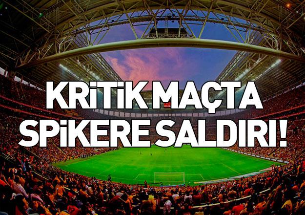 Galatasaray taraftarlarından Emre Gönlüşen'e saldırı