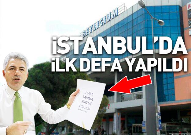 İstanbul'daki AVM'lerde bir ilk: Plaka Tanıma Sistemi