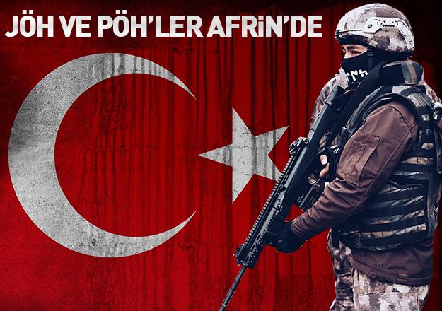 JÖH ve PÖH'ler Afrin'de! Kararlı ilerleyiş devam ediyor