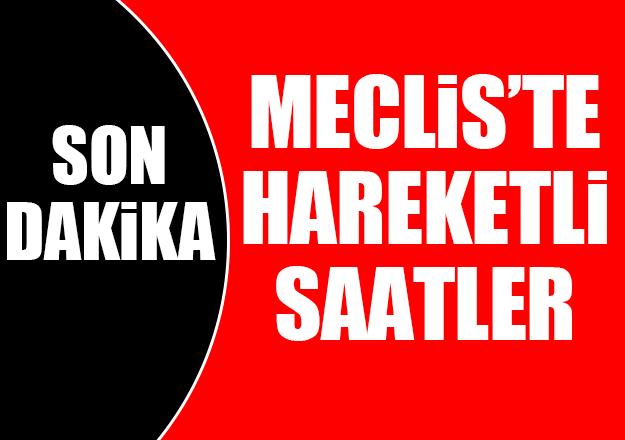 Meclis'te hareketli dakikalar… MHP reddetti, CHP heyeti AK Parti'ye gitti