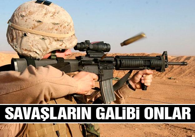 Savaşların galibi olan silah tüccarları