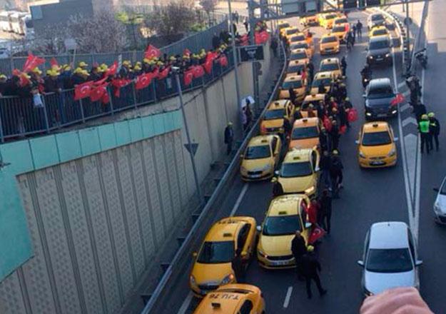 Taksi - UBER gerilimi yasal mercilere taşındı! Adliyeye akın ettiler