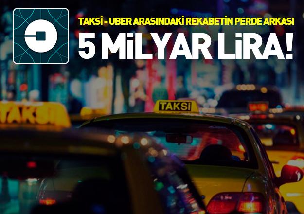 Taksi ve UBER arasında milyarlarca liralık savaş!