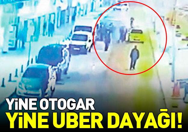 Taksicilerin UBER tepkisi dinmiyor! Otogarda yine saldırı
