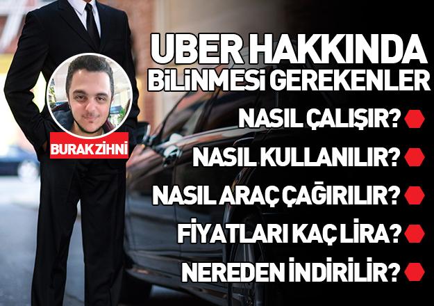 UBER Taksi uygulaması nasıl çalışır ve indirilir | Uber Taksi çağırma nasıl yapılır