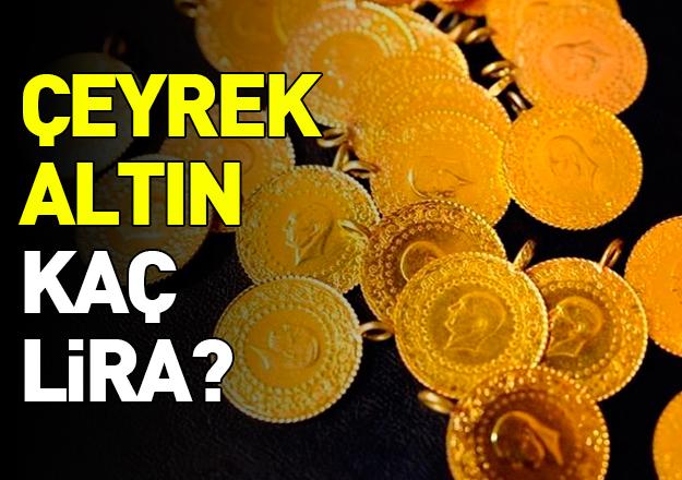 10 Nisan 2018 Salı Çeyrek Altın Fiyatları kaç lira? Alış ve satış ücretleri
