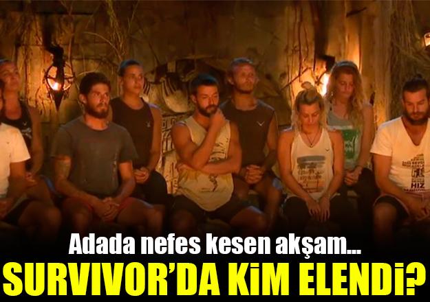 16 Nisan 2018 Pazartesi Survivor kim elendi? Hakan mı Damla mı Cumali mi gitti