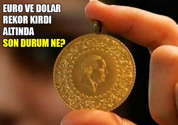 6 Nisan 2018 Cuma Altın fiyatları kaç lira - Çeyrek, tam ve gram altın son dakika fiyatları
