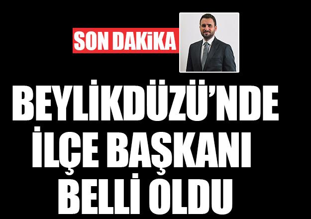 Ak Parti Beylikdüzü İlçe Teşkilatı Başkanı Mustafa Necati Işık oldu