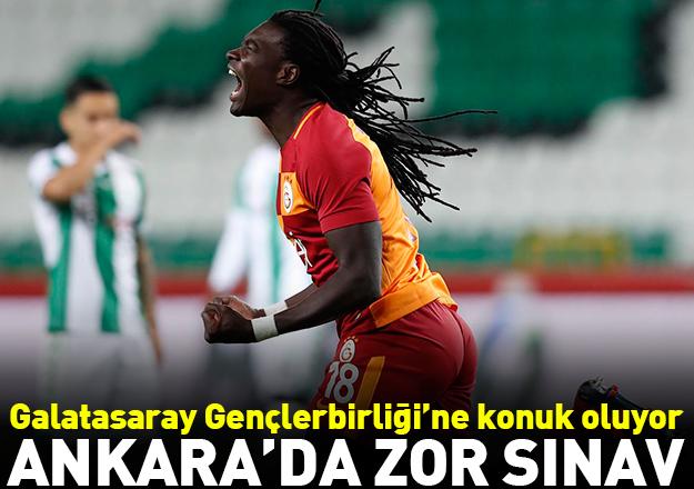 Ankara'da zor sınav: Gençlerbirliği - Galatasaray