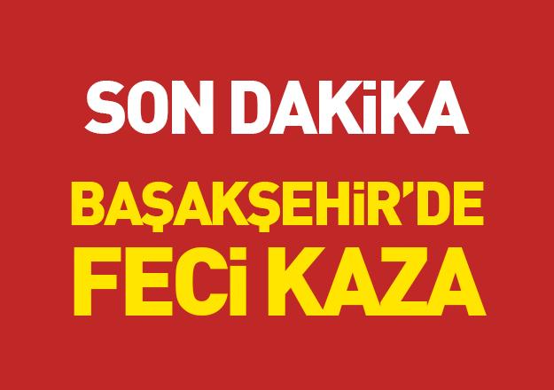 Başakşehir'de feci kaza: 6 yaralı!