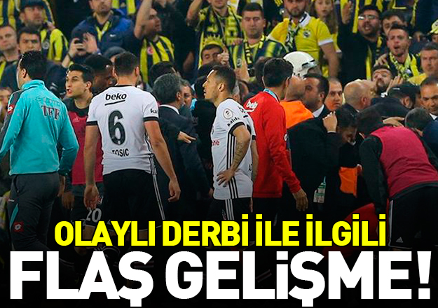 Fenerbahçe - Beşiktaş derbisi hakkında flaş gelişme