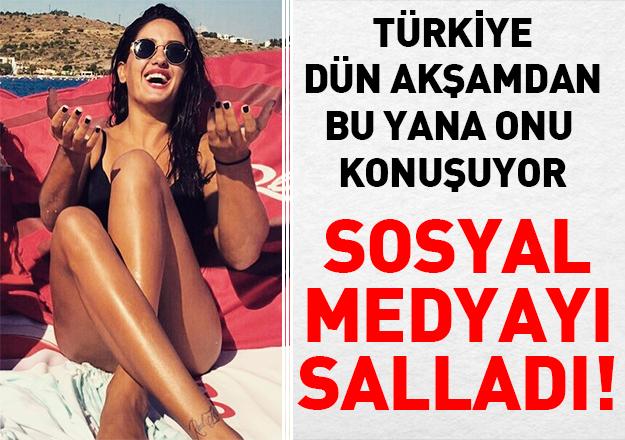 Fotoğraflarıyla Türkiye'yi salladı! Survivor Sahra Işık kimdir Instagram hesabı yaşı ve sevgilisi var mı