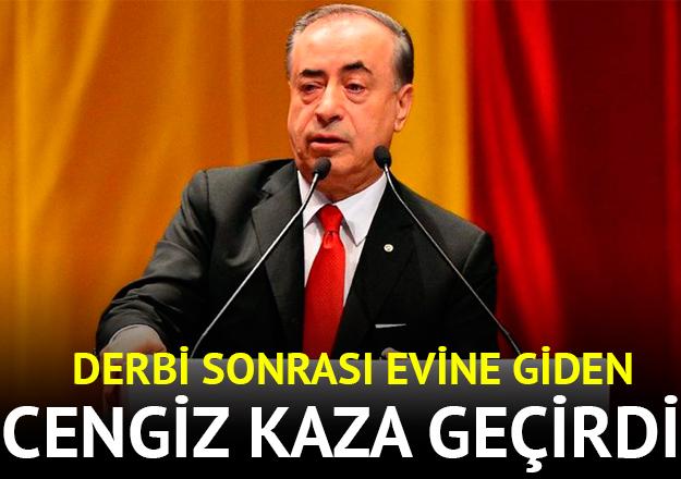 Galatasaray Başkanı Mustafa Ceniz trafik kazası geçirdi! Sağlık durumu nasıl