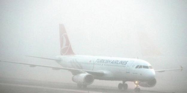 İstanbul uçakları Ercan'a inemedi