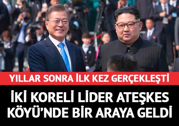 Kore'de tarihi görüşme